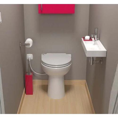 Cuvette WC à broyeur intégré Sanicompact 43 - SFA - C43STD pas cher Secondaire 2 L