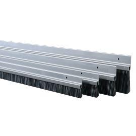 Bas de porte en aluminium avec brosse IBS pas cher