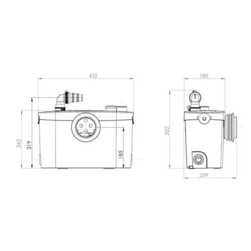 Broyeur SFA Sanipro XR Up photo du produit Secondaire 1 L