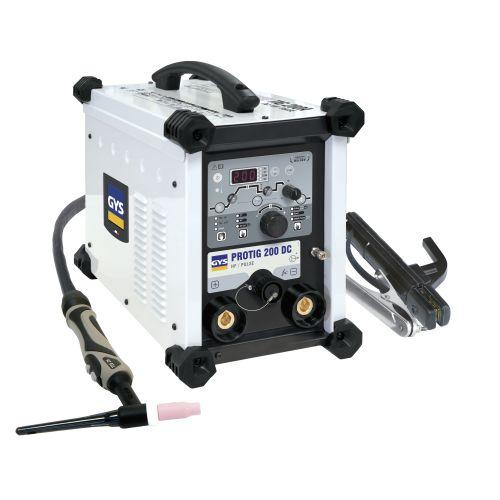 Poste de soudure GYS PROTIG 200 DC + accessoires photo du produit Principale L