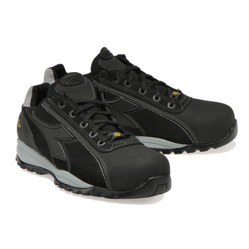 Chaussure basse GLOVE TECH PRO noir S3 HRO ESD pointure 46 - DIADORA - 701.173528 pas cher