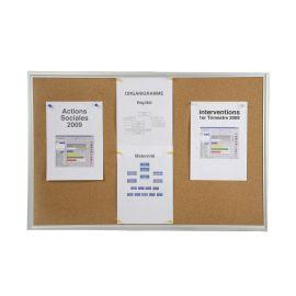 Tableau d'affichage fond liège photo du produit