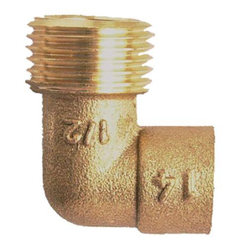 Coude fer-cuivre mâle GCU 92 26x34 - 28 - GARIS - D21509B pas cher Principale L