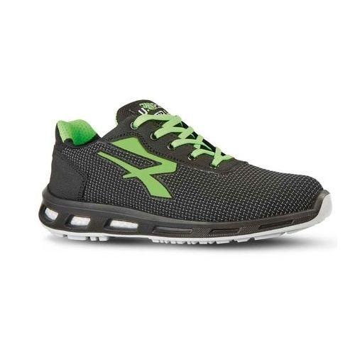 Chaussures de sécurité basses Strong S3 SRC CI noir / vert taille 41 - U-POWER - RL2035641 pas cher