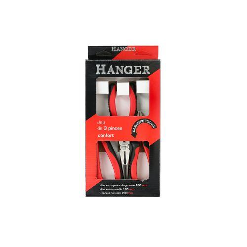 Jeu de 3 pinces confort Hanger photo du produit Secondaire 2 L