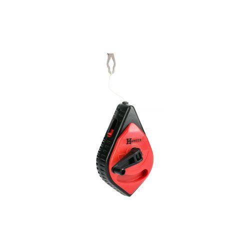 Cordeau à tracer boîtier en plastique 30 m - HANGER - 100071 pas cher