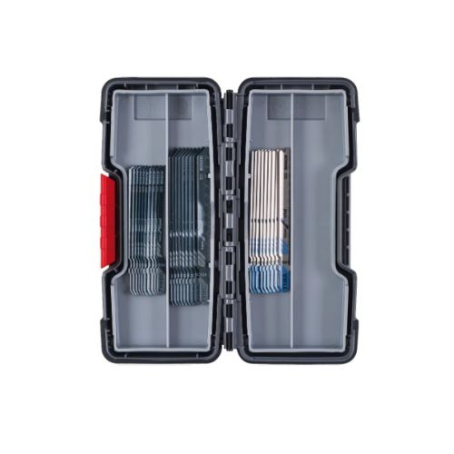 Kits de 30 lames de scie sauteuse Bosch Basic for Wood and Metal, Tough Box photo du produit