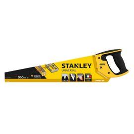 Scie égoïne de charpentier isocèle Stanley denture grosse section photo du produit Principale M