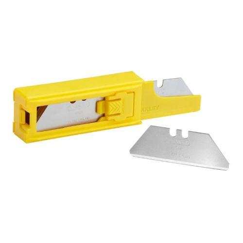 Étui de 10 lames de couteau sécurité à bouts arrondis - STANLEY - 2-11-987 pas cher