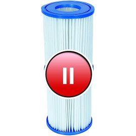 Lot de 4 cartouches pour pompe de filtration Type II - BESTWAY pas cher