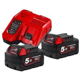 Pack de batteries Milwaukee 18 V + chargeur M12-18 FC pas cher Principale M
