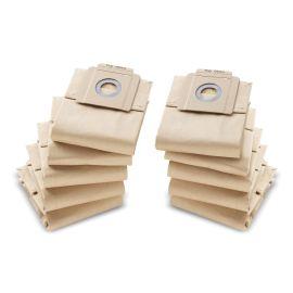 Paquet de 10 filtres papier pour aspirateur T7/10 - KARCHER - 69043330 pas cher