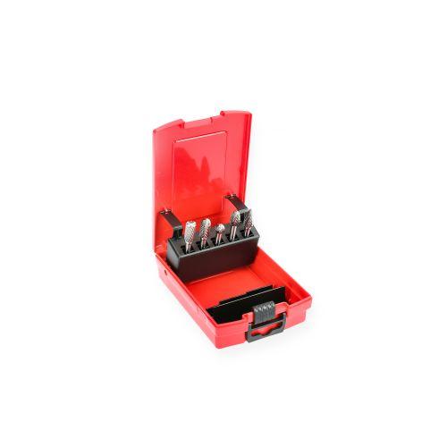 Coffret de 5 fraises carbure 10 mm - HANGER - 151901 pas cher