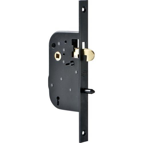 Serrure à larder 4G à mentonnet axe 50mm bout carré - JPM - 000280-01-01 pas cher Principale L