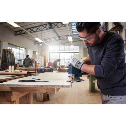 5 lames de scie sauteuse 100 mm HCS T101BR pour le bois - BOSCH - 2608630014 pas cher Secondaire 1 L