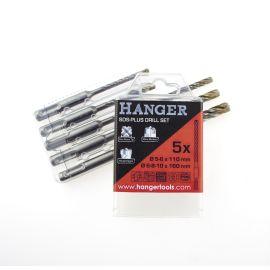 Set de 5 forets béton SDS+ Hanger 4 taillants THOR pas cher Principale M
