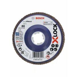 Plateau à lamelles Bosch X-LOCK X571 Best for Metal pas cher