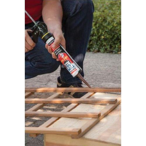 Mastic colle Fix All High Tack beigecartouche 290 ml - SOUDAL - 100271 pas cher