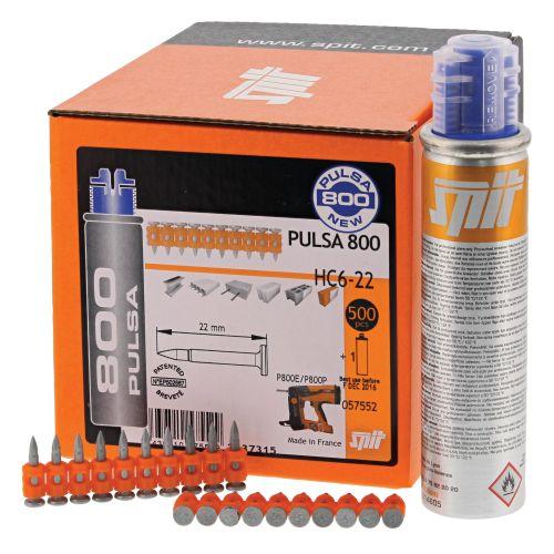 Clous pour Pulsa HC6 P800 boîte de 500 - SPIT - 057553 pas cher Secondaire 1 L