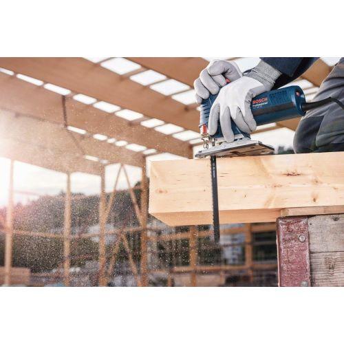 5 lames pour scie sauteuse ''Speed for Wood'' (T144D) - BOSCH - 2608630040 pas cher Secondaire 2 L