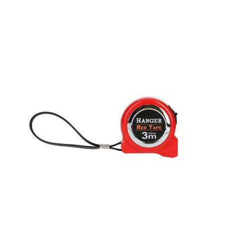Mètre ruban 3 m x 16 mm 'Red Tape' - HANGER - 100021 pas cher Secondaire 4 L