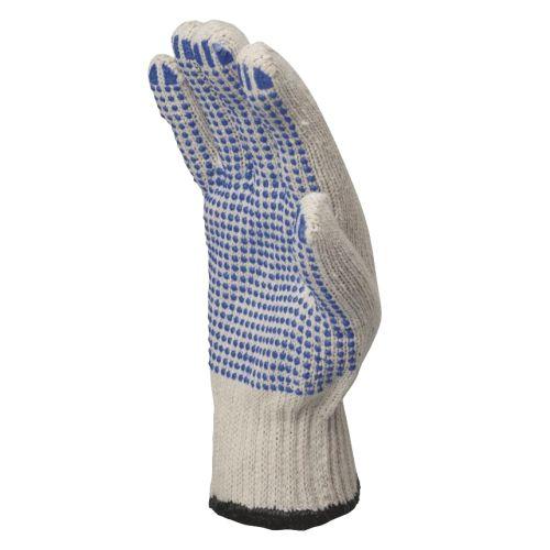 Gants tricot polycoton picots PVC taille 9 - DELTA PLUS - TP16909 pas cher Secondaire 1 L