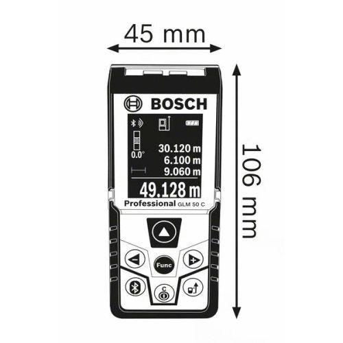Télémètre laser Bosch GLM 50 C Professional photo du produit Secondaire 3 L