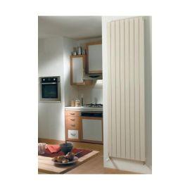 Radiateur eau chaude FASSANE simple vertical 1240W photo du produit