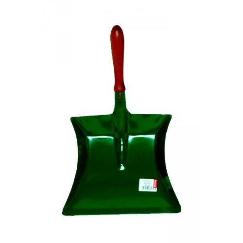 Pelle métal laqué vert Brosserie Thomas manche bois photo du produit Principale L