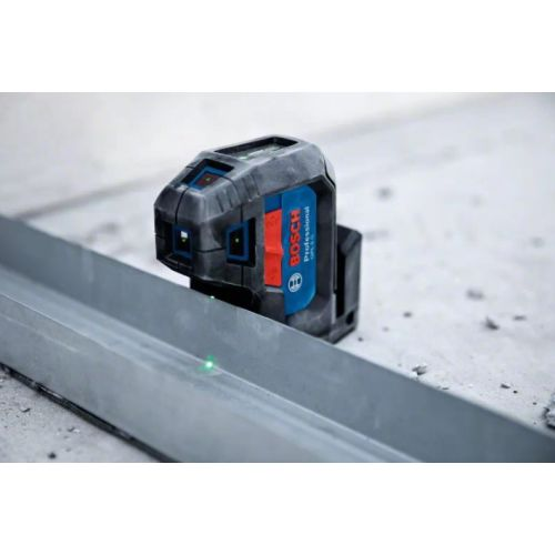Laser vert 5 points GPL 5 G avec 2 piles AA - BOSCH - 0601066P00 pas cher Secondaire 1 L