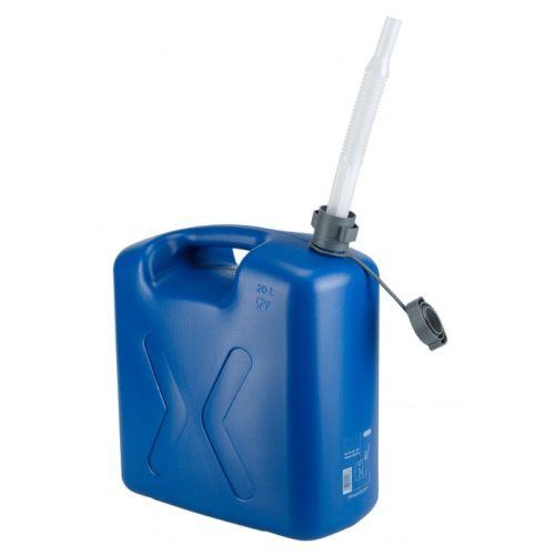 Jerrycan Pressol Eco bleu avec bec flexible photo du produit Principale L