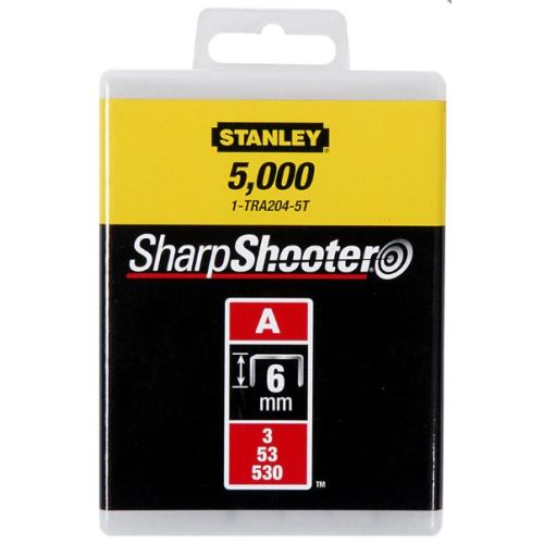 1000 agrafes 10,0 mm type A - STANLEY - 1-TRA206T pas cher