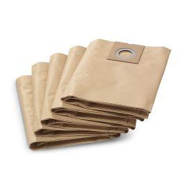 Paquet de 5 filtres papier pour aspirateur NT27/1 - KARCHER - 69042900 pas cher