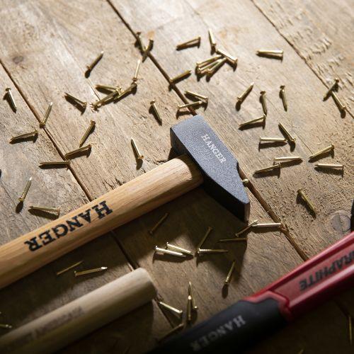 Marteau de mécanicien rivoir manche bois Hickory 30 mm - HANGER - 110711 pas cher Secondaire 1 L