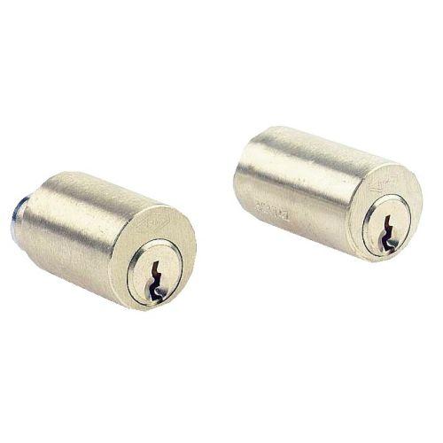 Jeu de cylindre longueur de 40 laiton poli pour serrure VEGA fourni avec 3 clés - JPM - 833740-01-0A pas cher Principale L