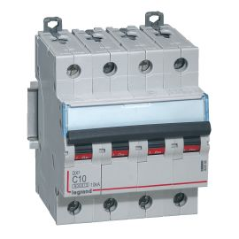 Disjoncteurs DX3 4P C 6000A/10KA photo du produit