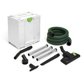 Kit de nettoyage pour commerçants Festool D 36 HW-RS-Plus + coffret Systainer Sys3 M 437 pas cher