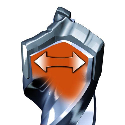 Foret béton SDS-Max diamètre 16 x 340 mm longueur utile 200 mm - multitaillants XT3 - SPIT - 225099 pas cher Secondaire 4 L
