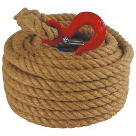 Cordes pour poulie Seine et Lys en chanvre photo du produit Principale M