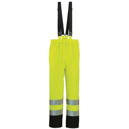 Pantalon de pluie à bretelle haute visibilité Coverguard Harbor photo du produit