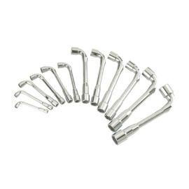 Jeu de 12 clés à pipe débouchées 6x6 pans Sam outillage 94-SD photo du produit
