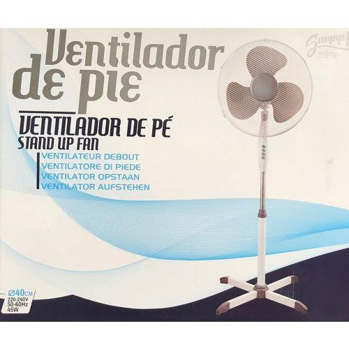 Ventilateur oscillant sur pied Diamètre 40 cm - 45 W photo du produit Secondaire 1 L