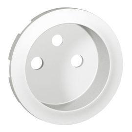 Enjoliveur Céliane pour prise de courant 2P+T à puits - Blanc photo du produit