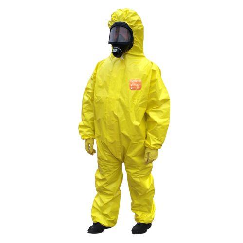 Combinaison Segesplash risques chimiques jaune photo du produit