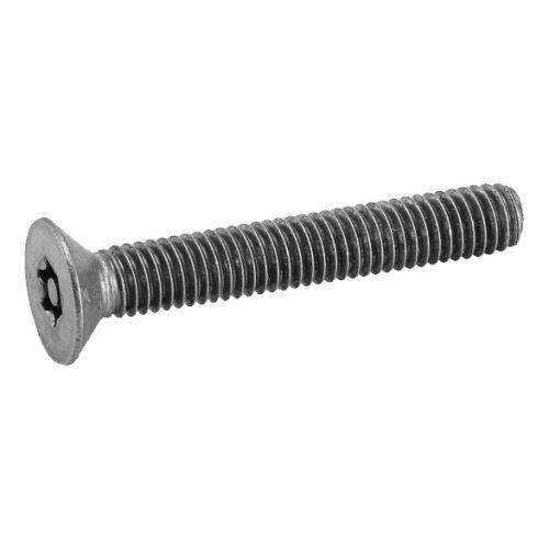Vis à métaux Acton tête bombée 6 lobes inviolable avec téton central A2 DIN 7991 photo du produit