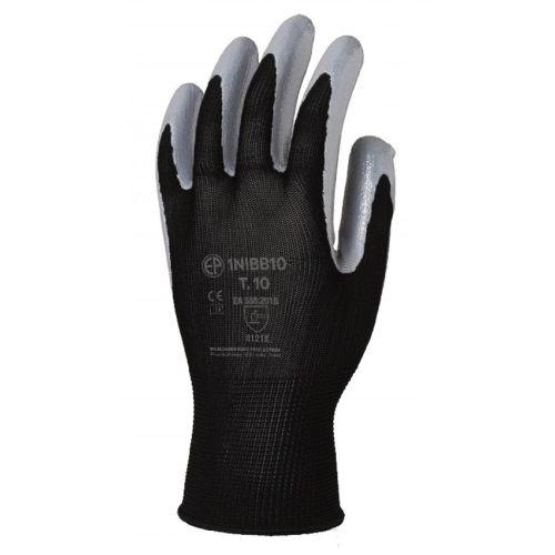 Gants de protection enduit nitrile Eurotechnique 1NIBB photo du produit