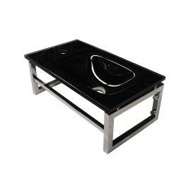 Lave-mains noir 10 cm x 40 cm (HxL) pas cher