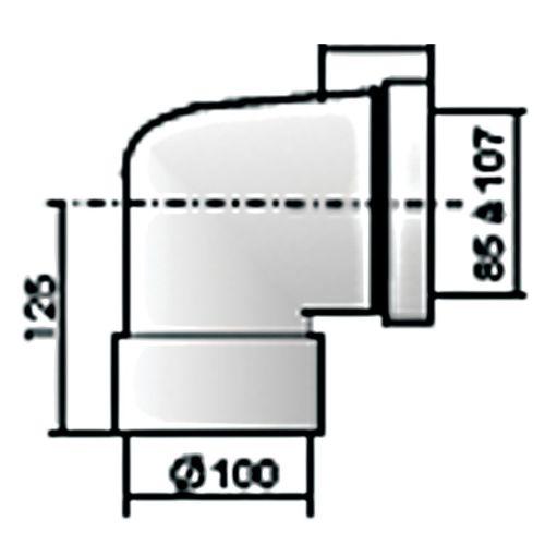 Pipes courtes droites photo du produit