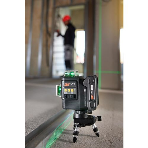 Laser vert 360° sans fil Spit L18 18 V nu + trépied + coffret Keybox photo du produit Secondaire 7 L