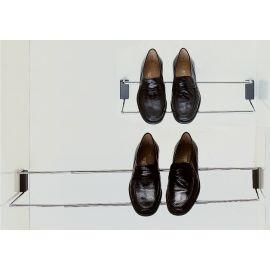 Porte chaussure réglable chromé pas cher